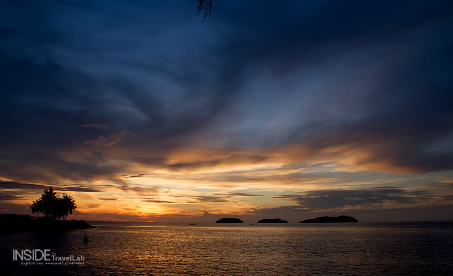 Sunset in Sabah