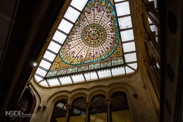 Stunning architecture that inspired Gaudi in Passeig de Gracia Barcelona