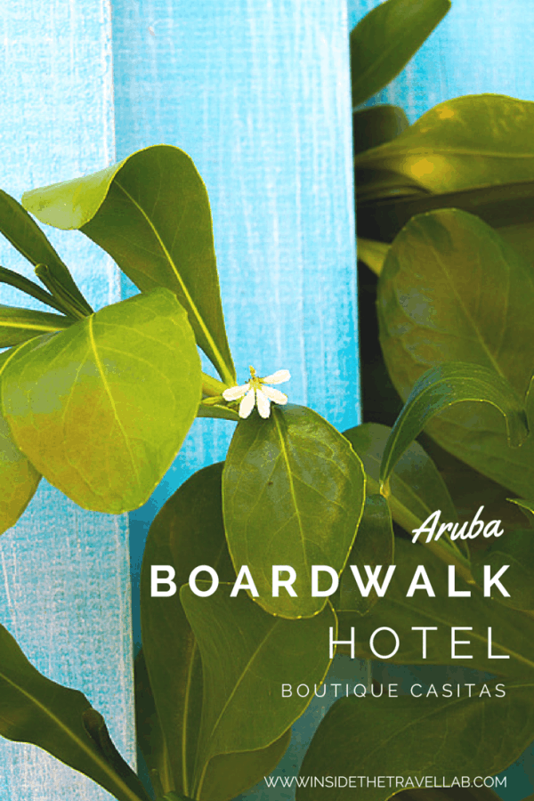 Boardwalk Small Hotel Aruba from @insidetravellab
