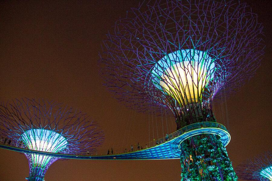 Singapore by Night via @insidetravellab