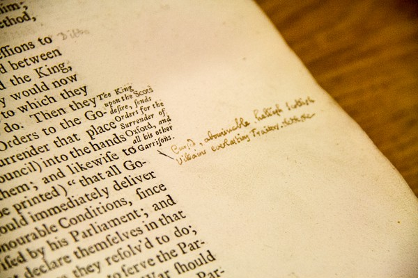 Swift's comments at Marsh's Library, Dublin @insidetravellab