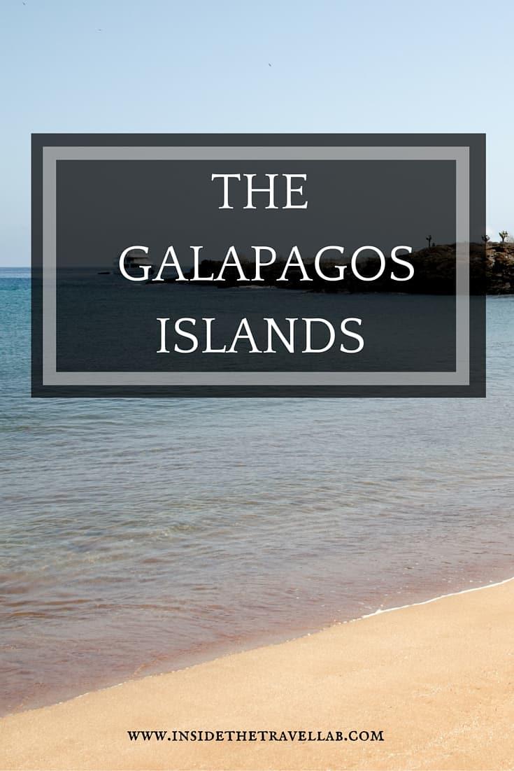 Exploring the Galapagos Islands - an incredible part of travel to Ecuador via @insidetravellab