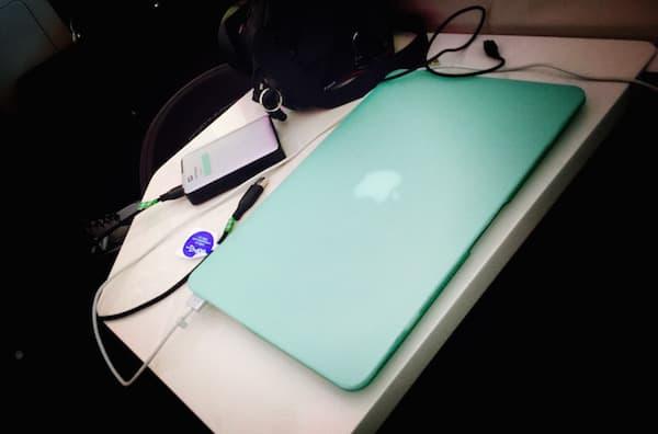 Laptop in Virgin Business