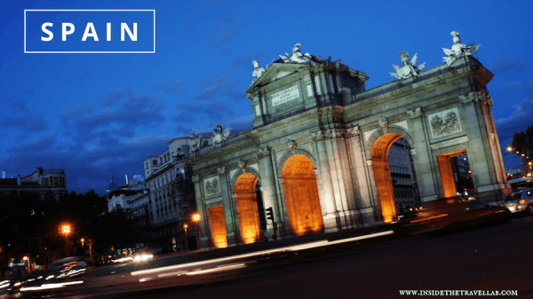 travel to Spain with @insidetravellab