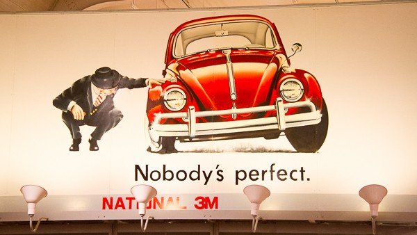Car advert at Henry Ford Museum via @insidetravellab