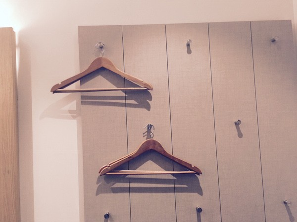 Hipster wardrobe in the Z Shoreditch London