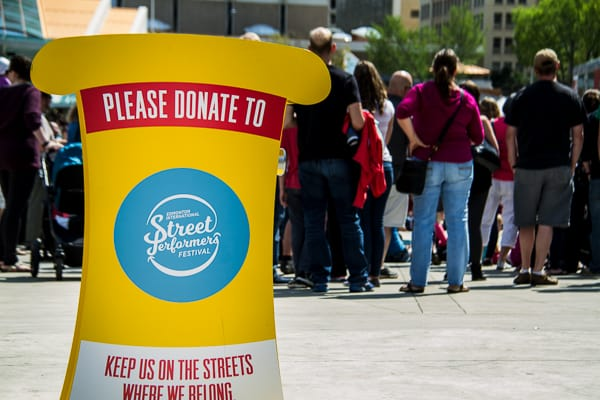 Please donate to the Edmonton Street Performers Festival