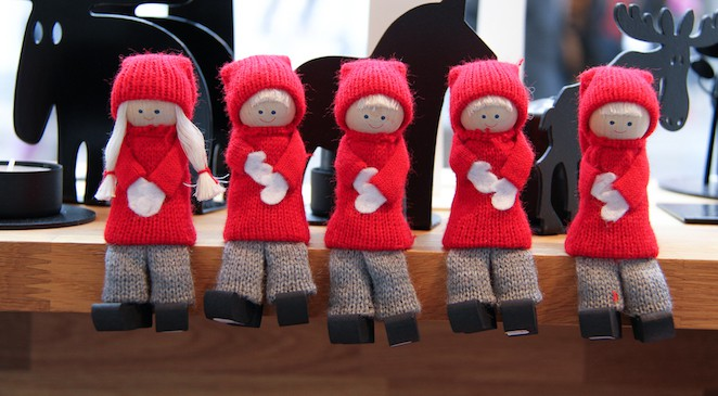 Christmas handicrafts in Sweden via @insidetravellab