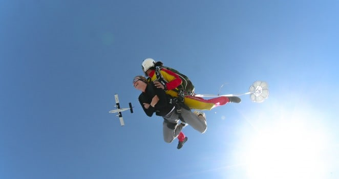 First skydiving travel experience via @insidetravellab