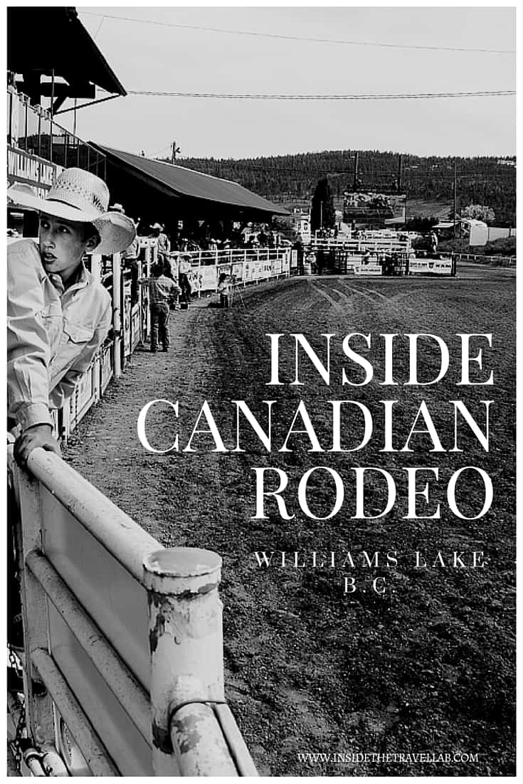 Inside Canadian Rodeo - the Williams Lake Stampede BC via @insidetravellab