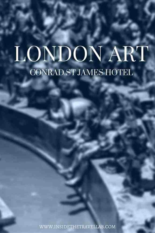 Secret art collection at London Conrad St James