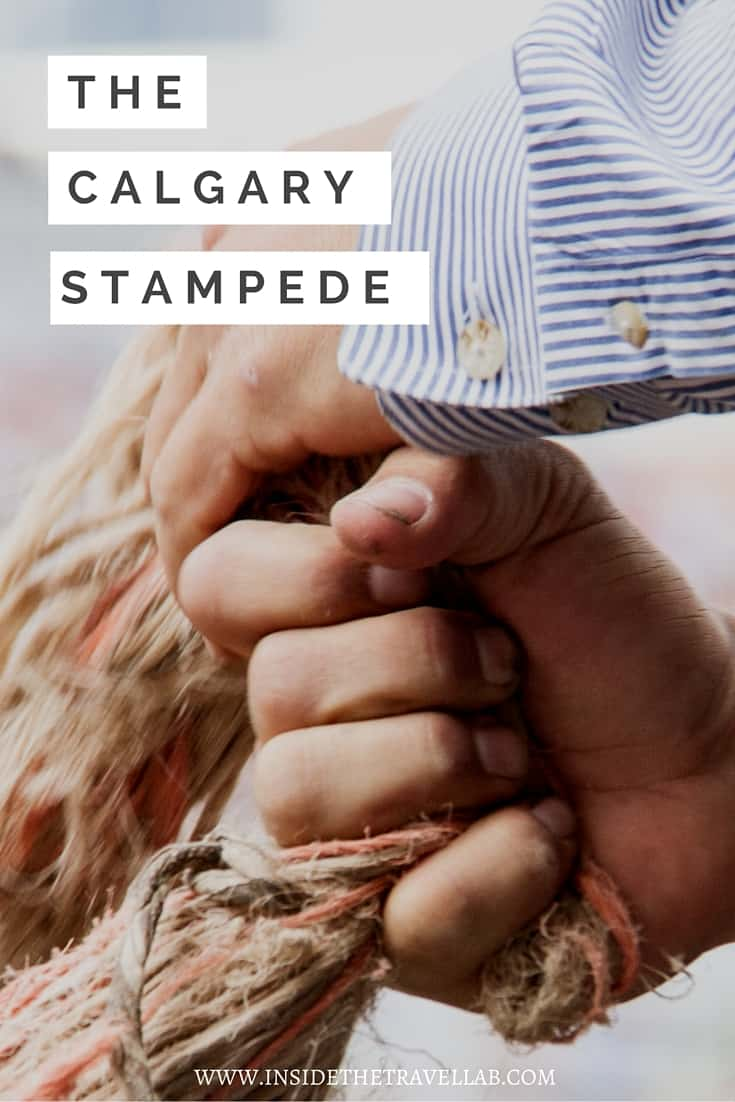 The Calgary Stampede is one of the most exciting things to do in Canada va @insidetravellab