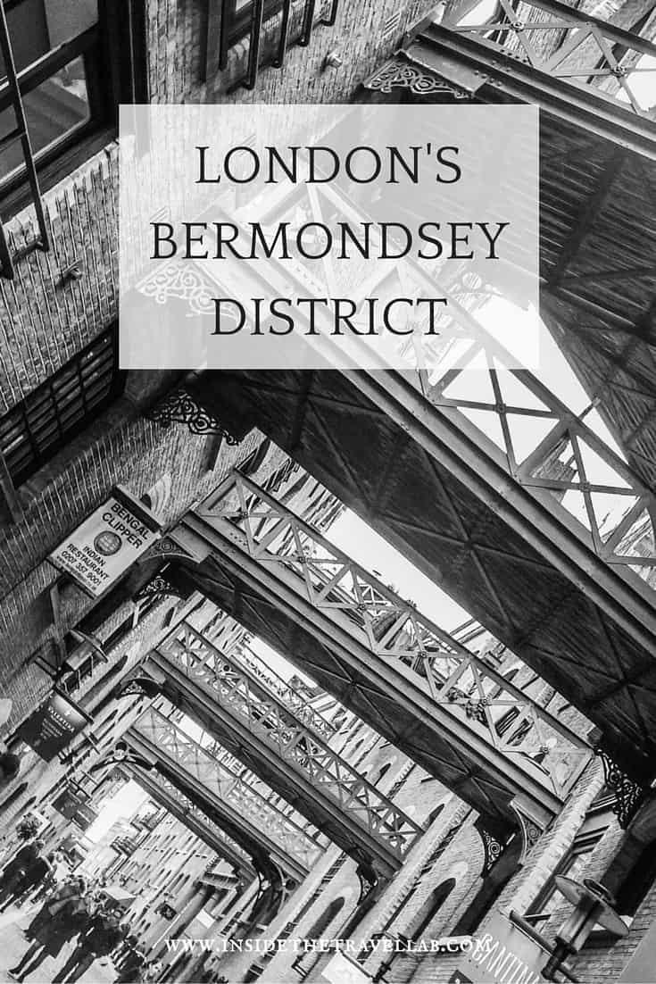 A trip through the London Bermondsey District via @insidetravellab