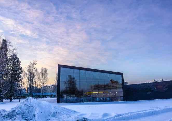 Alvar Aalto Apila Library in Seinajoki