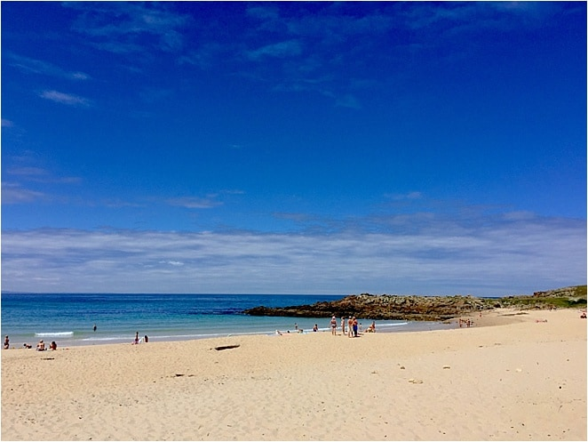 Beaches in Galicia via @insidetravellab