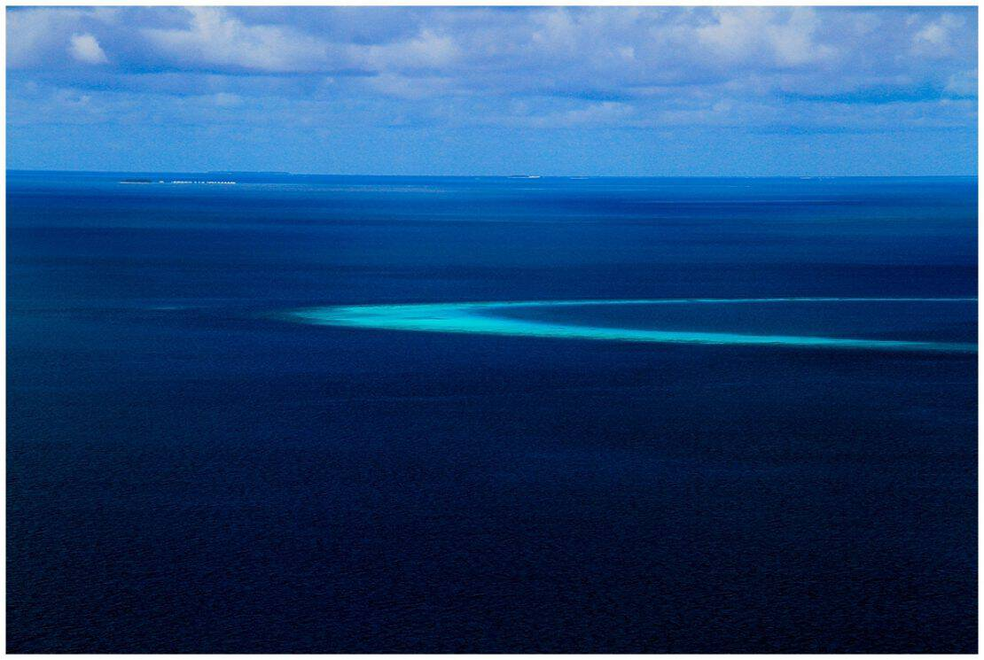 Indian Ocean from the Sky