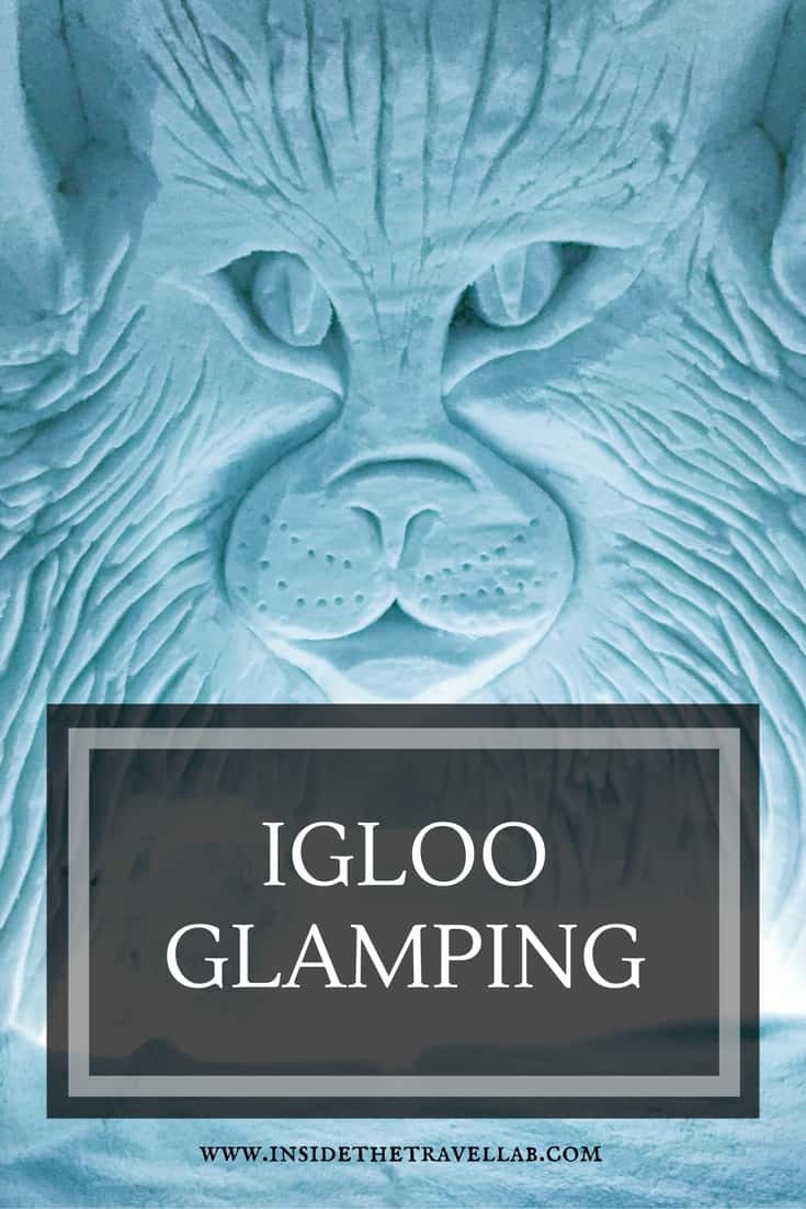 How to see the Northern Lights by igloo glamping in Finland. Stunning scenery, surprisingly warm via @insidetravellab