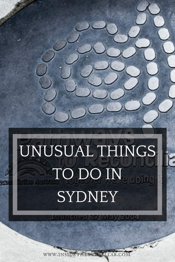 Unusual things to do in Sydney - retracing convict past in The Rocks, Australia