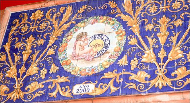 Triana market and ceramics in Seville