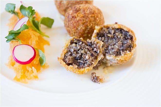 Gourmet Haggis in Edinburgh Scotland