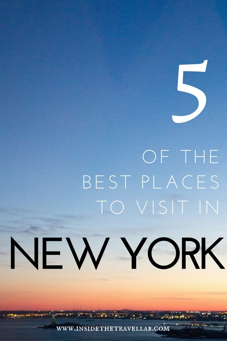 5 of the best things to do in New York via @insidetravellab