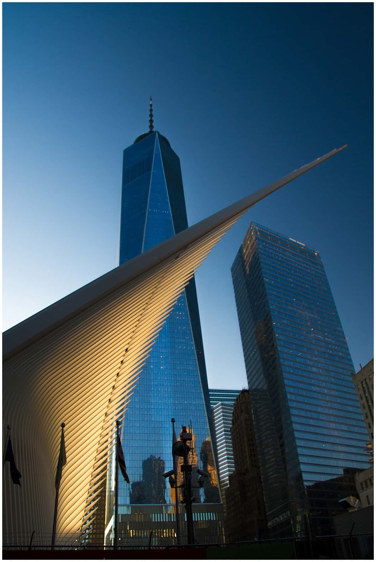 Calatrava oculus in New York
