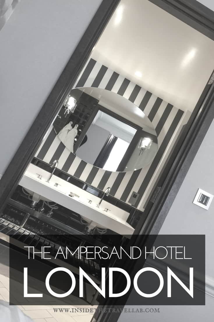 The Ampersand Hotel London - A Beautiful Boutique Hotel in England