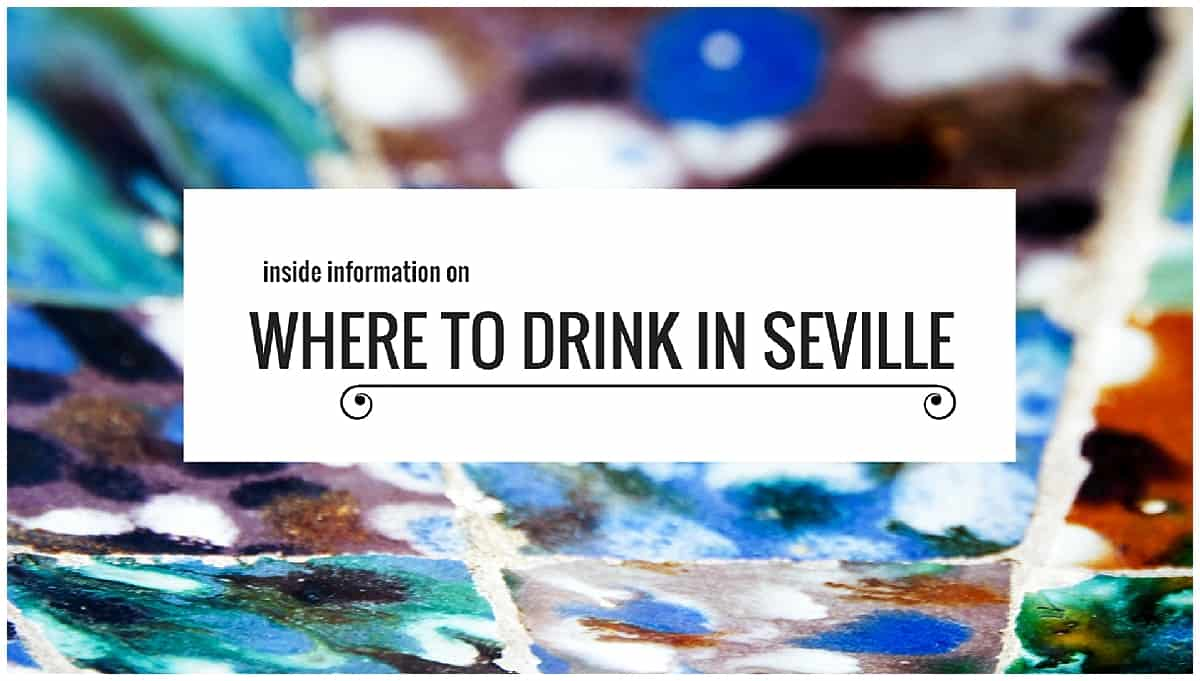 Where to drink in Seville