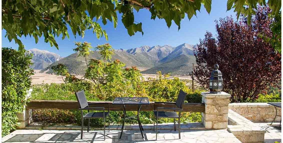 Villa Vager in the mountains in the Peloponnese
