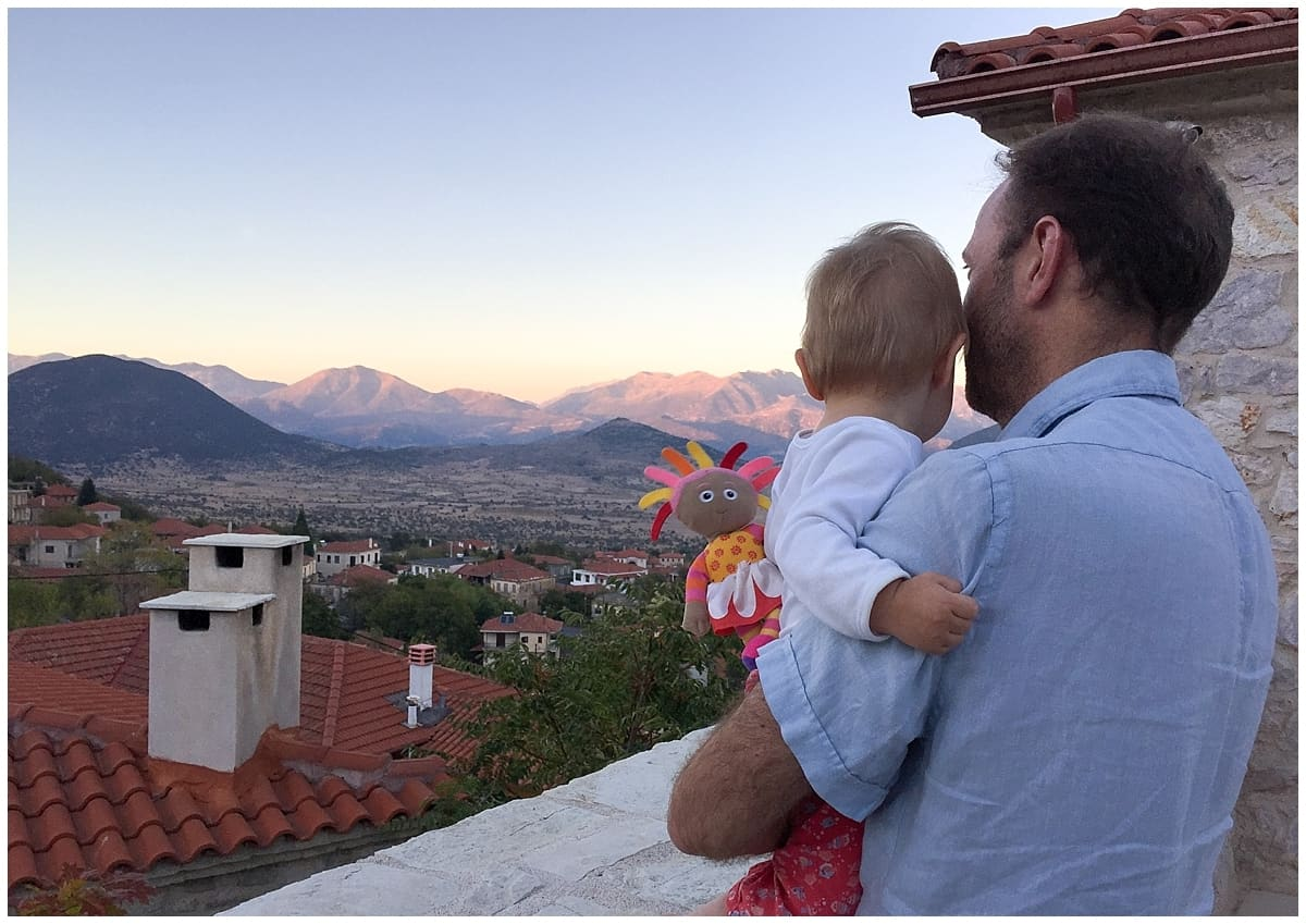 Travelling with children at Villa Vager