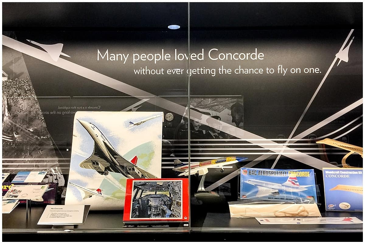 Loving concorde at Aerospace Bristol