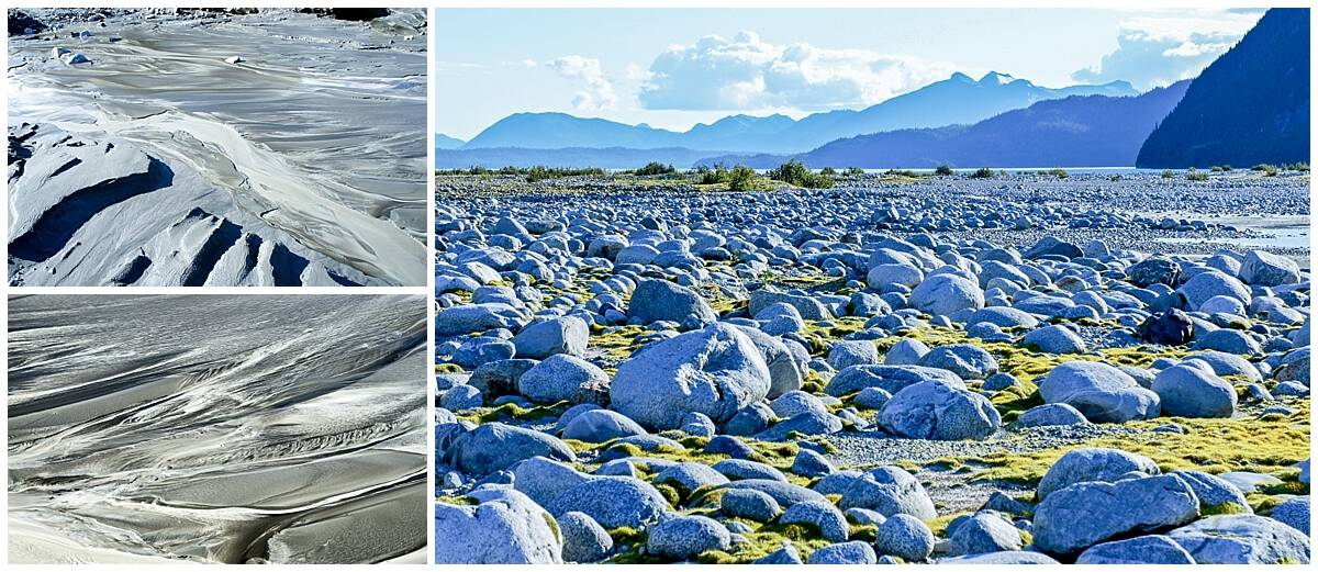 Unusual landscape in Alaska