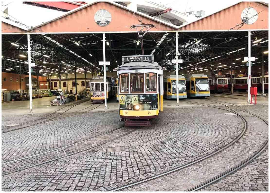 Lisbon Tram Station