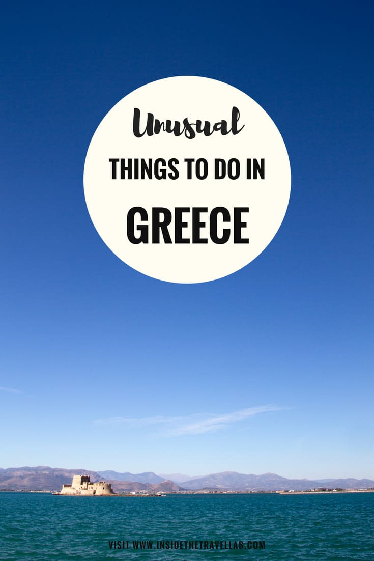 Unusual things to do in Greece