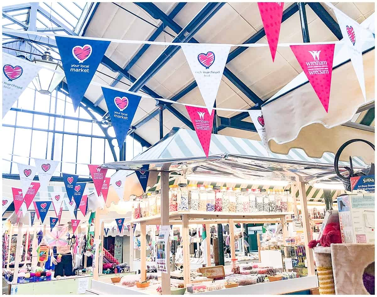 Centuries of trading at Wrexham Market
