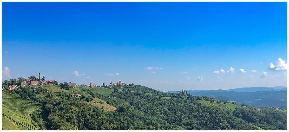 Styria landscape like Tuscany