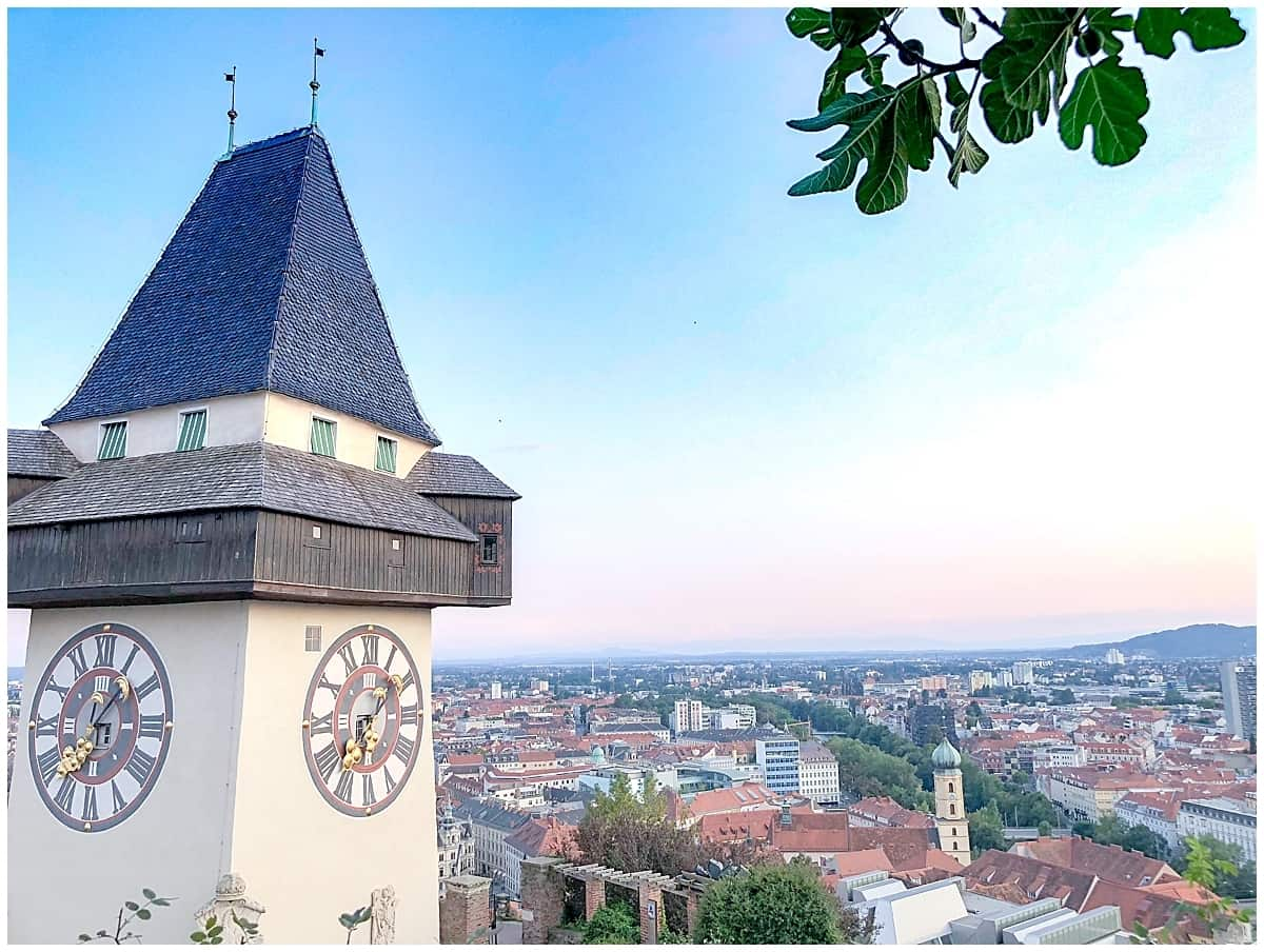 Graz clocktower