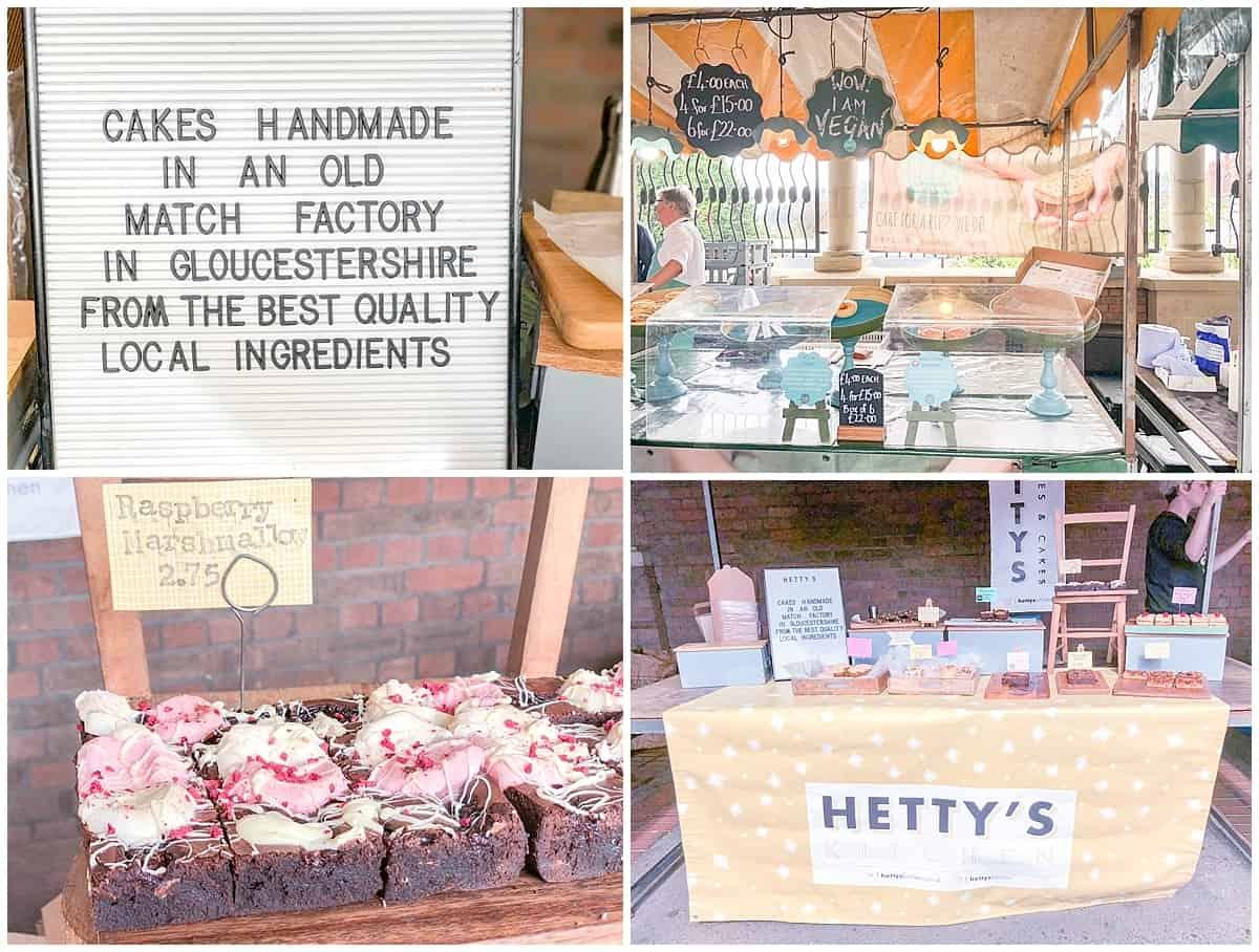 Hettys Kitchen Cakes at Stroud Farmers Market