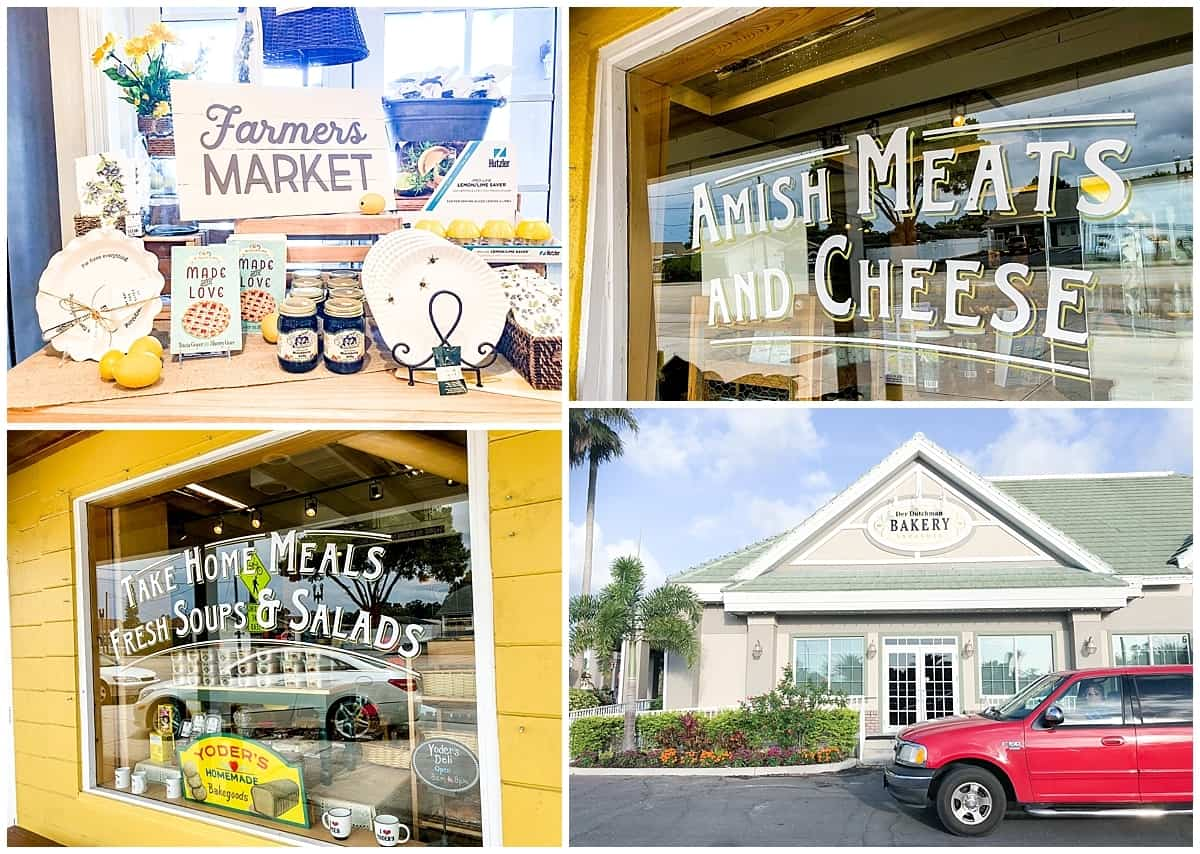 Unusual things to do in Sarasota - Amish food near Sarasota