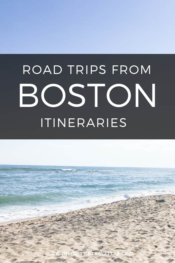 Road trips from Boston Massachusetts Driving Itineraries