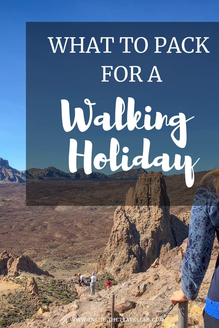 What to pack for a walking holiday