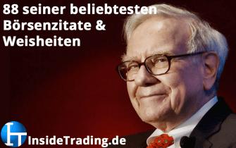 88 der beliebtesten Börsenzitate und Weisheiten von Warren Buffett
