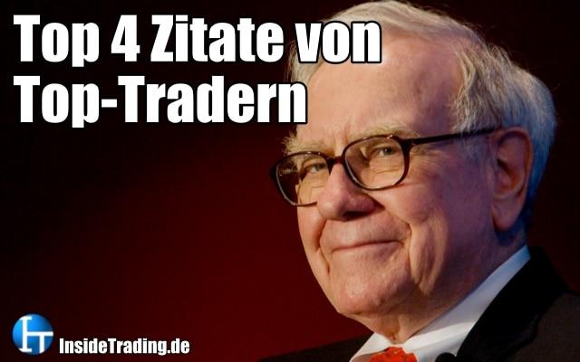 Top 4 Zitate von Top-Tradern