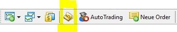 Metatrader Editor öffnen - MQL5