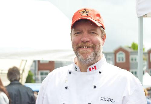 Chef Rob Clark | Photo credit: Karen Hamilton