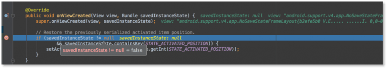 Android Studio 1.2 Beta Test-Debugger