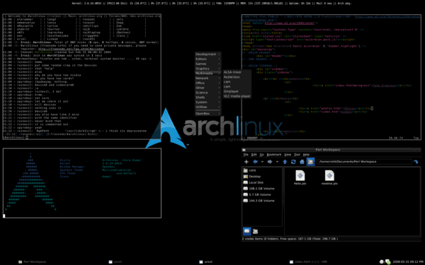 Arch Linux tool