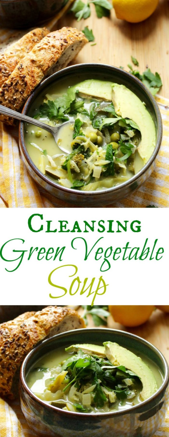 Cleansing Green Vegetable Soup