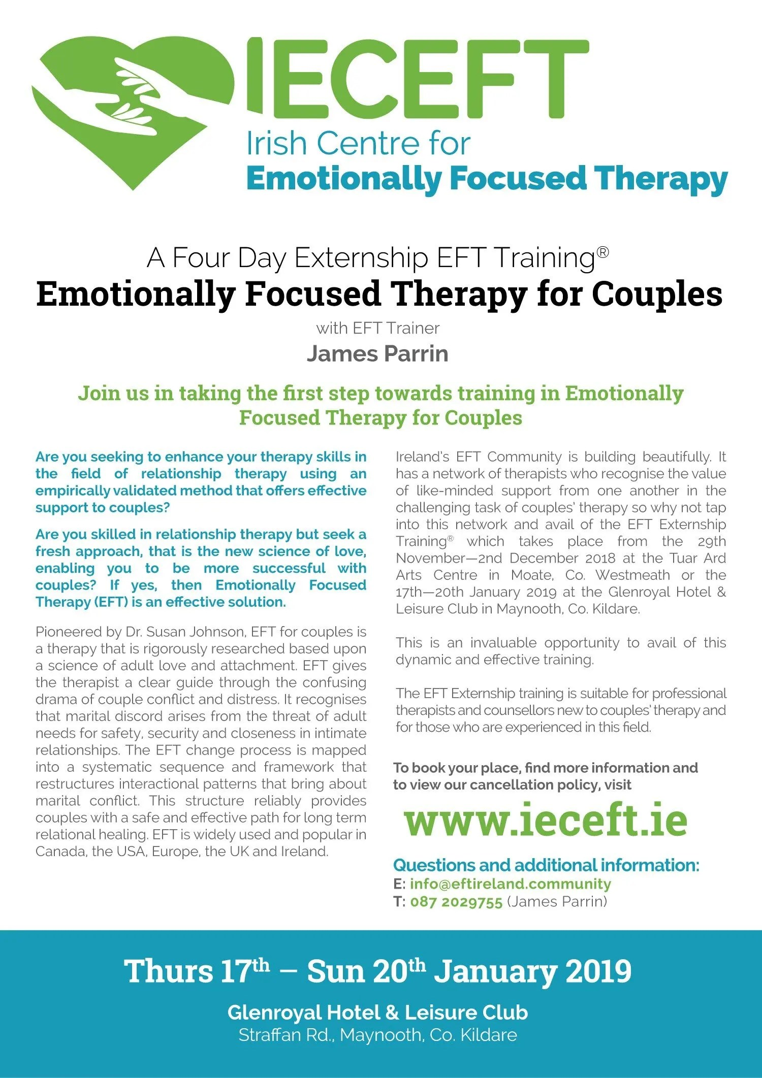 Emotionally Focused Couples Therapy Training
