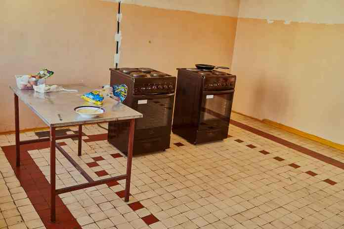 kitchen dormitory